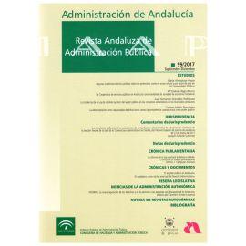 Administración de Andalucía: Revista Andaluza de Administración Pública 2018. Números 100, 101 y 102