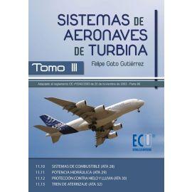 Sistemas de Aeronaves de Turbina, III