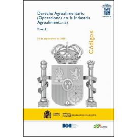 Derecho Agroalimentario 3 Vols.  (Operaciones en la Industria Agroalimentaria) 2019