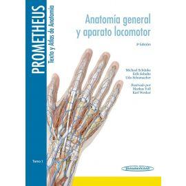 Texto y Atlas de Anatomía. Prometheus 3 tomos