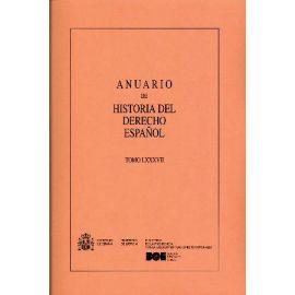 Anuario de Historia del Derecho Español 88. 2018