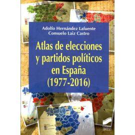 Atlas de elecciones y partidos políticos en España (1977-2016)