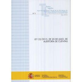 Ley 22/2015, de 20 de Julio, de Auditoría de Cuentas (2016)