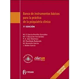Banco de instrumentos básicos para la práctica de la Psiquiatría Clínica 2015