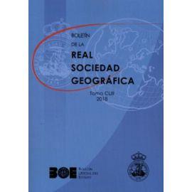 Boletín de la Real Sociedad Geográfica Tomo CLIII 2018