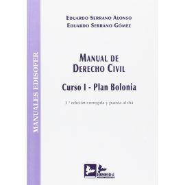 Manual de Derecho Civil. Curso I. Plan Bolonia 2016