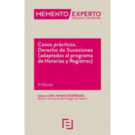 Casos prácticos. Derecho de Sucesiones 2021 (Adaptados al programa de notarías y registros)
