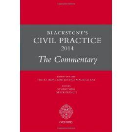 Blackstone's Civil Practice 2014. The Commentary