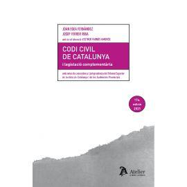 Codi civil de catalunya I legislacio complementaria. Amb notes de concordança i jurisprudència del TSJC i de les audiències provincials