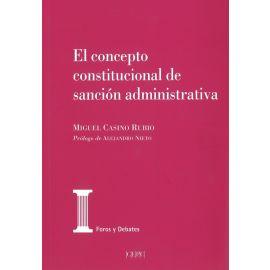 Concepto Constitucional de Sanción Administrativa