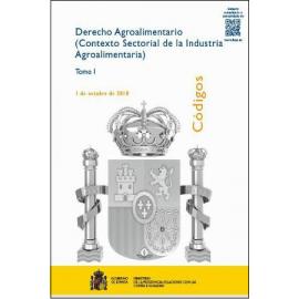 Derecho Agroalimentario (Contexto sectorial de la Industria Agroalimentaria) Totalmente Actualizado