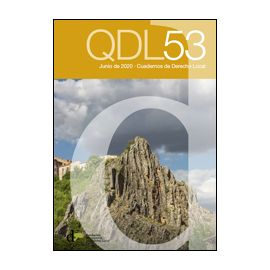 Cuadernos de derecho local Nº 53, junio de 2020