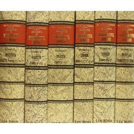 Cuerpo del Derecho Civil Romano, 6 vols