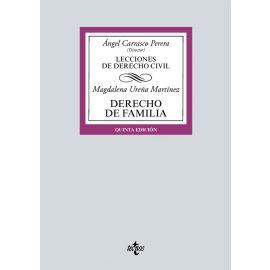 Lecciones Derecho Civil. Familia - Magdalena Ureña Martínez. Edición 2021