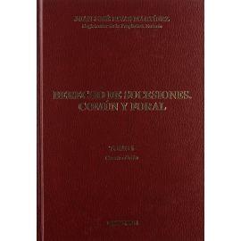 Derecho de Sucesiones, Común y Foral. Tomo I. 4ª Edición.