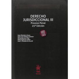Derecho Jurisdiccional III. Proceso Penal 2017