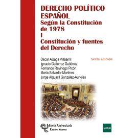 Derecho Político Español según la Constitución de 1978 I