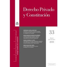 Derecho Privado y Constitución 2018 Papel Nº 32 y 33