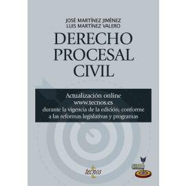 Derecho Procesal Civil - José Martínez Jiménez. Editorial Tecnos