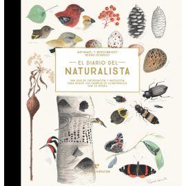 El diario del naturalista. Una guía de observación y anotación para seguir los cambios de la naturaleza que te rodea
