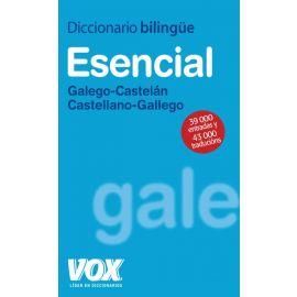 Diccionario Bilingüe Esencial Galego-Castelán / Castellano-Gallego