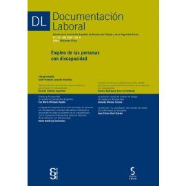 Documentación laboral, 120 Año 2020 Vol. II Empleo de las personas con discapacidad