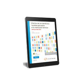 E-book Efectos beneficios fiscales Institución Familiar