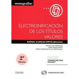 Electronificación de los Títulos Valores 2019