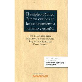 Empleo Público. Puntos Críticos en los Ordenamientos                                                 Italiano y Español. Cuadernos AS (2º 2018)