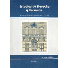Estudios de Derecho y Hacienda. 2 Vols.                                                              Homenaje a César Albiñana García-Quintana.