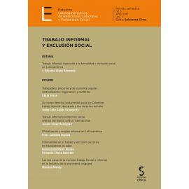 Estudios Latinoamericanos de Relaciones Laborales 2017 / Nº 3/1                                      Protección Social.Trabajo Informal y Exclusión Social