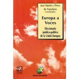 Europa a Voces. Diccionario Jurídico-Político de la Unión Europea.