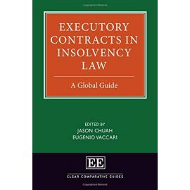 Executory Contracts in Insolvency Law. A Global Guide