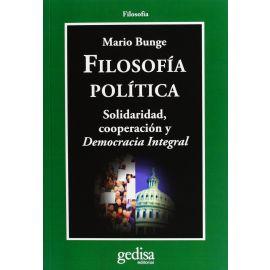 Filosofía Política.                                                                                  Solidaridad, Cooperación y Democracia Integral.