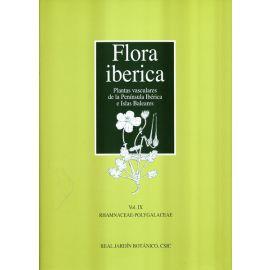 Flora Ibérica Volumen IX: Rhamnaceae-Polygalaceae