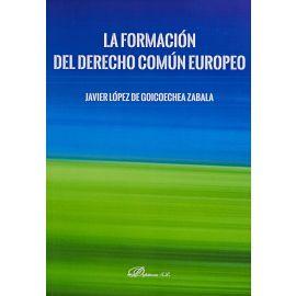 Formación Del Derecho Común Europeo