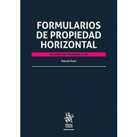 Formularios de Propiedad Horizontal.                                                                 Con acceso a los formularios online