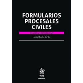 Formularios Procesales Civiles. 2016 Con acceso a la formularios online