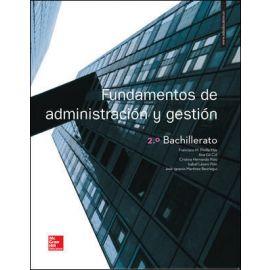 Fundamentos de Administración y Gestión 2º Bachillerato