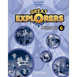 Great Explorers. 6. Activity Book