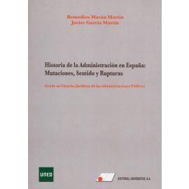 Historia de la Administración en España