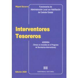 Interventores tesoreros 2020 Addenda (Temas no incluidos en el programa de Secretarios-Interventores)