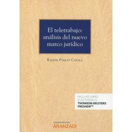 Teletrabajo: análisis del nuevo marco jurídico