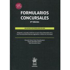 Formularios Concursales 2020. Adaptado y revisado conforme al nuevo Texto Refundido de la Ley Concursal (Real Decreto Legislativo 1/2020, de 5 de ,mayo)