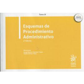 Esquemas de Procedimiento Administrativo 2020. Tomo IX