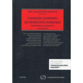 Convenio europeo de derecho humanos 2021. Comentario sistemático