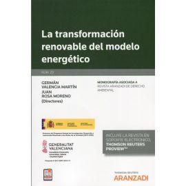 Transformación renovable del modelo energético