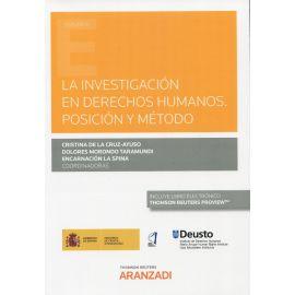 La investigación en derechos humanos. Posición y método