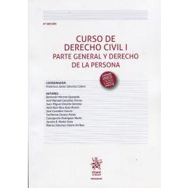 Curso de derecho civil I. Parte general y derecho de la persona