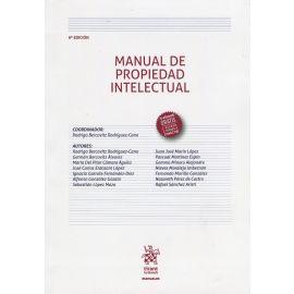 Manual de Propiedad Intelectual 2019 Tirant lo Blanch.